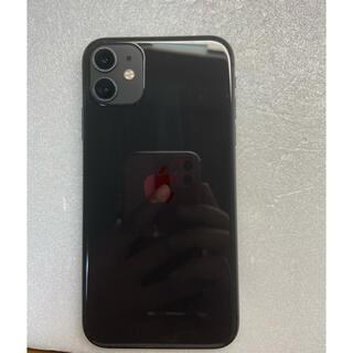 iPhone - iPhone11 128GB プラックSimフリーバッテリー91%