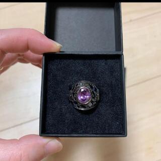 ヴィヴィアンウエストウッド(Vivienne Westwood)の大人気ヴェルヴェットラウンジカレッジスターダストリング9号(リング(指輪))