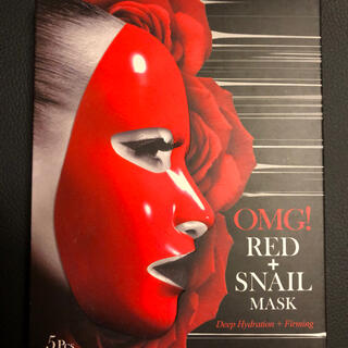 OMG! Red Snail Mask 2箱(全10枚)(パック/フェイスマスク)