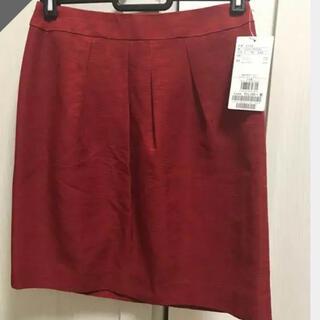UNTITLED - タグ付き UNTITLED 赤スカート