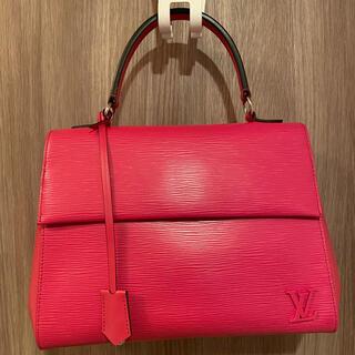 LOUIS VUITTON - 美品ルイヴィトン クリュニー直営店購入ピンクエピ