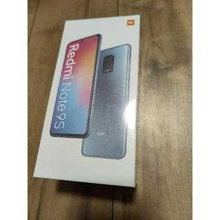 ANDROID - 【未開封 新品】Xiaomi Redmi Note 9S ブルー