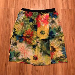 ブラーミン(BRAHMIN)の146 花柄スカート(ひざ丈スカート)
