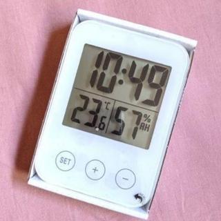 イケア(IKEA)の[新品] イケア スロッティス 湿度計 温度計 置時計 掛け時計(置時計)