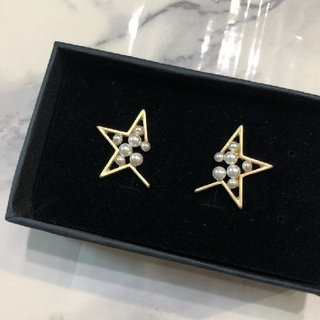Drawer - abstract star pierce