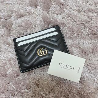 Gucci - GUCCI 〔GGマーモント〕カードケース
