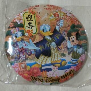 ディズニー(Disney)のディズニーリゾート 2017年 迎春 缶バッジ (バッジ/ピンバッジ)