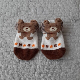 ホットビスケッツ(HOT BISCUITS)のホットビスケッツ ベビー靴下 9-10cm(靴下/タイツ)