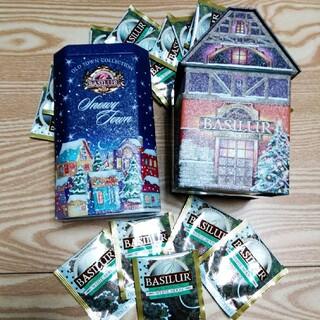 バシラーティー 缶入り紅茶(茶)
