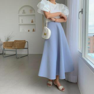 ZARA - birthdaybash Aラインボンディングスカート
