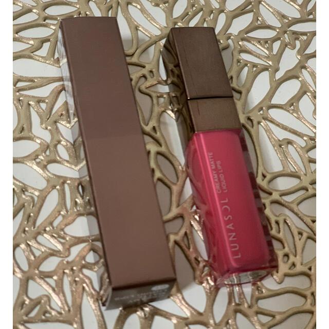 LUNASOL(ルナソル)のLUNASOL ルナソル クリーミィマットリクイドリップス 口紅 グロス コスメ/美容のベースメイク/化粧品(口紅)の商品写真