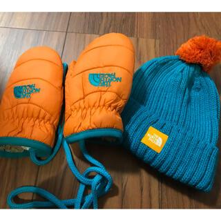 THE NORTH FACE - ノースフェイス ベビー ニット帽 手袋 セット