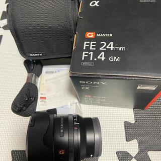 ソニー(SONY)のSONY FE 24mm F1.4 GM 2022/12まで保証付(レンズ(単焦点))