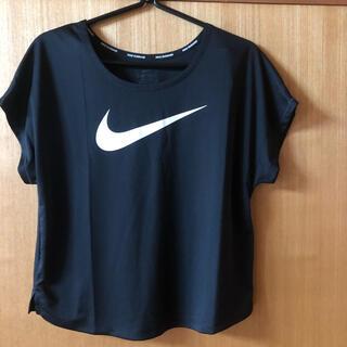 NIKE - NIKE ナイキ DRY-FIT レディースTシャツ (XL)  ブラック