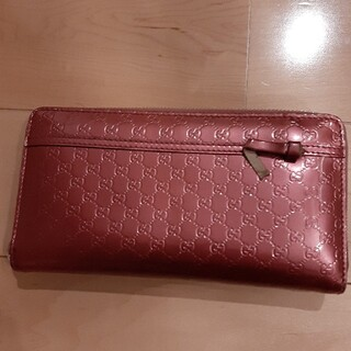 Gucci - GUCCI 長財布 マイクロGG
