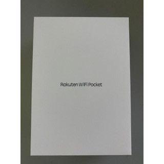 ラクテン(Rakuten)の新品 未開封 Rakuten WiFi Pocket ブラック R310 (PC周辺機器)