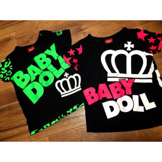 BABYDOLL - 【美品】ベビードール Tシャツ BABYDOLL
