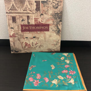 ジムトンプソン(Jim Thompson)の115マロン様専用 JIM THOMPSON スカーフ(バンダナ/スカーフ)