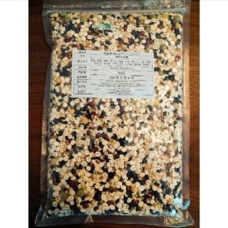 【新品】全品国産!炊飯用雑穀米 500g 無添加 便利なジップロック付き(米/穀物)