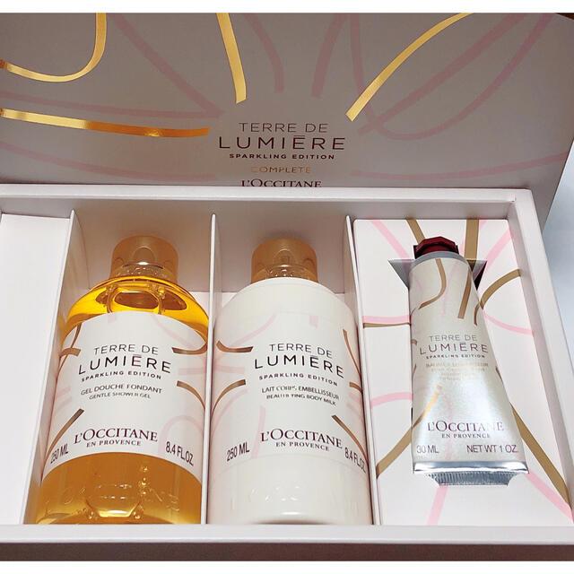 L'OCCITANE(ロクシタン)のロクシタン  テールドルミエール ジョイ コンプリート 3点セット コスメ/美容のボディケア(ボディローション/ミルク)の商品写真