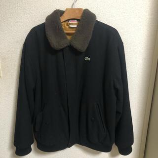 シュプリーム(Supreme)のSupreme/Lacoste  Wool Bomaer Jacket(ブルゾン)
