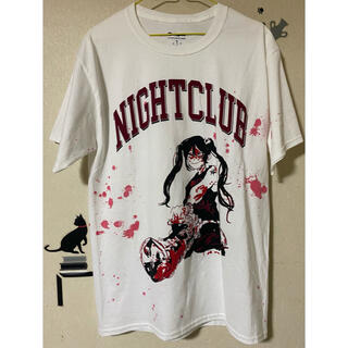 jun inagawa × nightclub コラボTシャツ