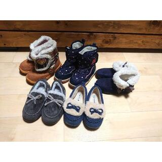 14.冬靴 ブーツ パンプス まとめ売り16cm(ブーツ)