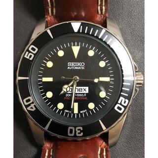 セイコー(SEIKO)のセイコーSNZFカスタム コメックス仕様(腕時計(アナログ))