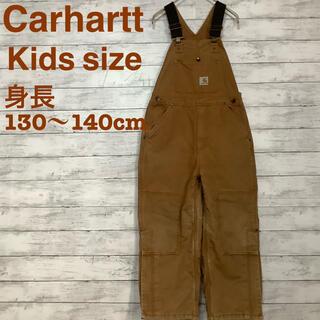 カーハート(carhartt)の☆Carhartt キッズサイズオーバーオール カーハート ブラウン (その他)