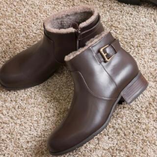 ランダ(RANDA)のRANDA 雪対応スパイク付きショートブーツ(ブーツ)