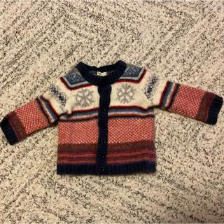 ベネトン(BENETTON)のベネトンベビー ニットカーディガン セーター 70cm(ニット/セーター)