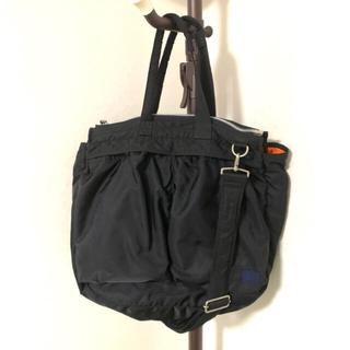 サカイ(sacai)のsacai porter pocket tote large ブラック 黒(ショルダーバッグ)