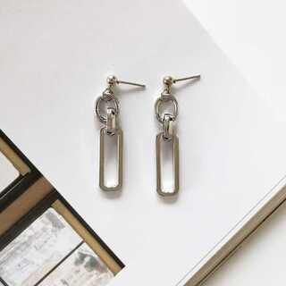 FREAK'S STORE - #435 import pierce : chain hoop silver
