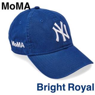 MOMA - 【新品・未使用】NY ヤンキースキャップ ブルー MoMA Edition