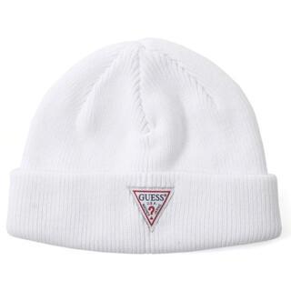 ゲス(GUESS)のGUESS  Triangle Logo Beanie(ニット帽/ビーニー)