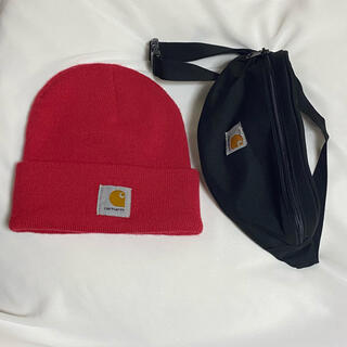 カーハート(carhartt)のCarhartt ウエストバッグ ニット帽(ニット帽/ビーニー)
