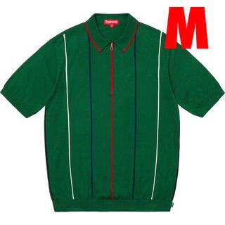 シュプリーム(Supreme)のSupreme Pinstripe Half Zip Polo ポロシャツ(ポロシャツ)