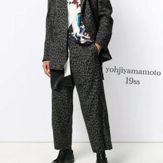 Yohji Yamamoto - Yohjiyamamoto レオパードパンツ 19ss