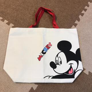 ディズニー(Disney)のトートバッグ Mickey Mouse 白(トートバッグ)
