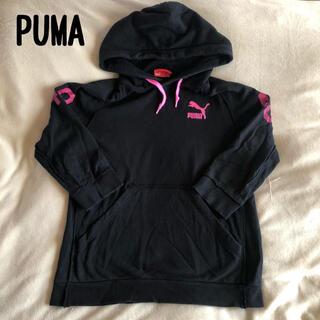 プーマ(PUMA)のPUMA トップス トレーナー パーカー 七分丈 L(パーカー)