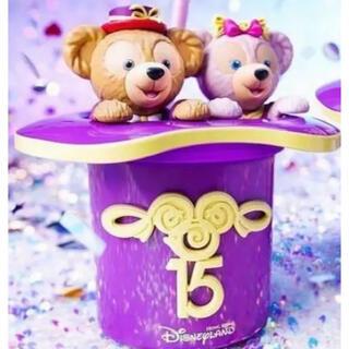 ダッフィー(ダッフィー)の香港ディズニー15周年ドリンクボトル♡(キャラクターグッズ)