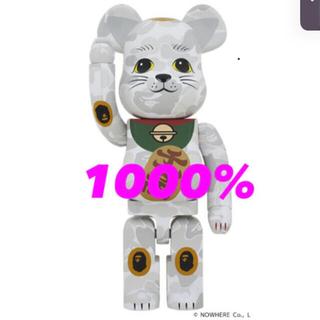 MEDICOM TOY - BE@RBRICK BAPE 招き猫 1000% ベアブリック