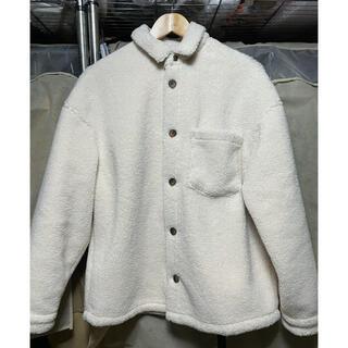 ZARA ボア生地シャツジャケット