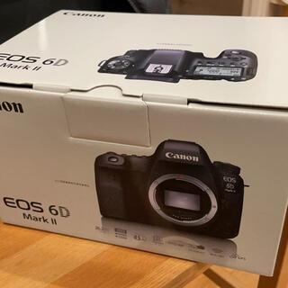 Canon - 新品 canon eos 6d mark ii