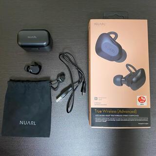 NUARL NT01AX-BM ワイヤレスイヤホン 片耳無し(ヘッドフォン/イヤフォン)