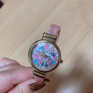 ディズニー(Disney)のディズニー ミニーちゃん バングルウォッチ 腕時計(腕時計)