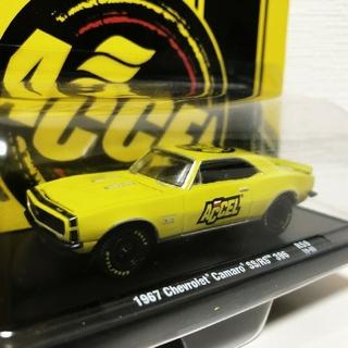 シボレー(Chevrolet)のM2/'67 Chevyシボレー Camaroカマロ SS/RS 1/64(ミニカー)