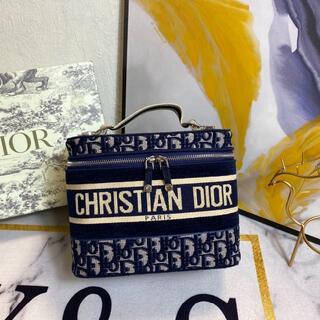 Christian Dior - Christian Dior クリスチャンディオール オブリーク 化粧ポーチ