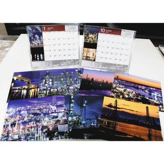 四日市工場夜景 2021年 卓上カレンダー(カレンダー/スケジュール)