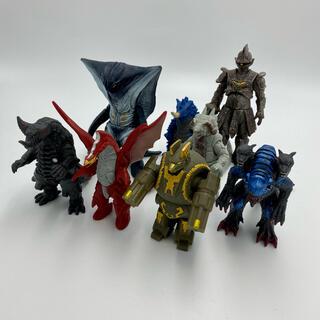 BANDAIバンダイ 絶版含む 対平成ウルトラマン怪獣ソフビ 8体セット